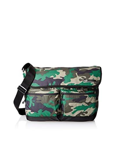 PUMA Men's Outlier Shoulder Bag, Green