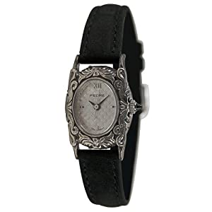 pedre women 7105sx antique sterling silver strap watch