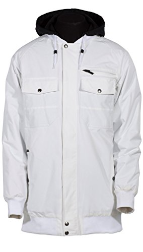 Armada Mens Harlaut Insulated Jacket White M (Harlaut Insulated Jacket compare prices)