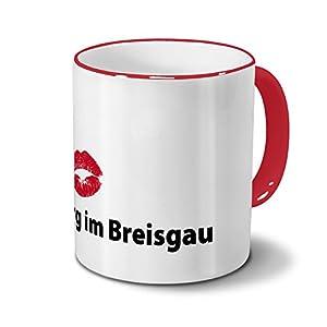Städtetasse Freiburg im Breisgau - Design Kussmund