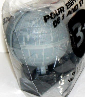 STAR WARS: Trilogy ~ Exploding DEATH STAR Spinner - Taco Bell - 1