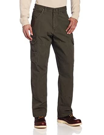 RIGGS WORKWEAR by Wrangler Men's Ranger Pant, Loden,36 x 32