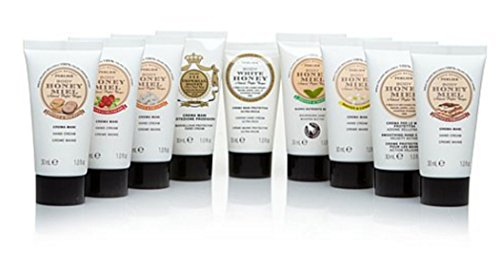 Perlier Mini Hand Cream Traveler Set ~ Honey 9 piece Set (Miel Hand Bag compare prices)