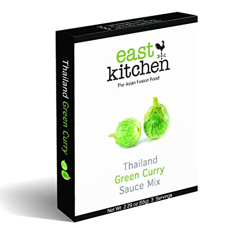 East Kitchen Green Curry, Thai Gourmet Sauce Mix, with Coconut Powder (Pack of 5) (Red Pack Tomato Paste compare prices)