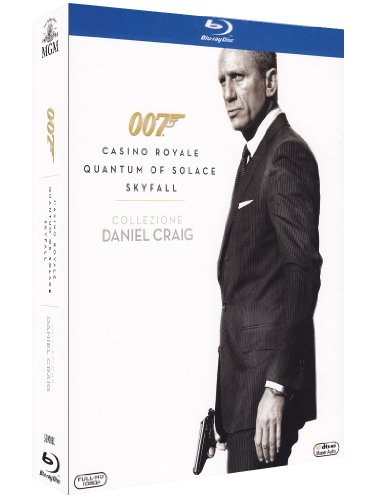 007 Daniel Craig - Casino Royale + Quantum of solace + Skyfall [Blu-ray] [IT Import]