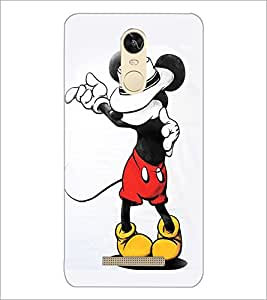 PrintDhaba Mickey Mouse D-1971 Back Case Cover for XIAOMI REDMI NOTE 3 (Multi-Coloured)