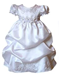 Satin Puffed Skirt Christening B574