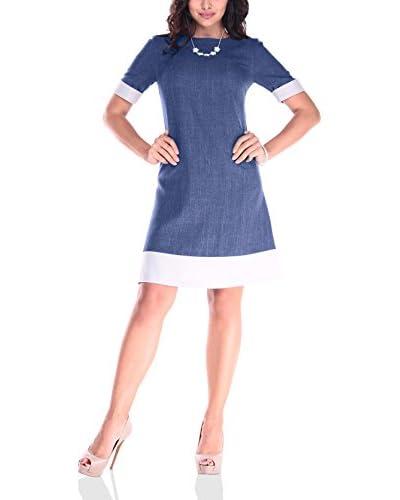 Rebecca Tatti Vestido Azul Marino