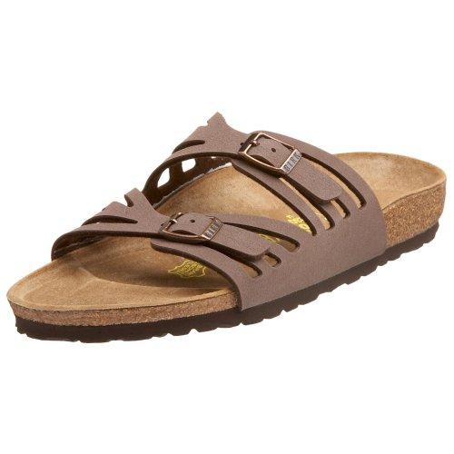 Birkenstock Granada Sandal,Mocca,37 N Eu front-838546