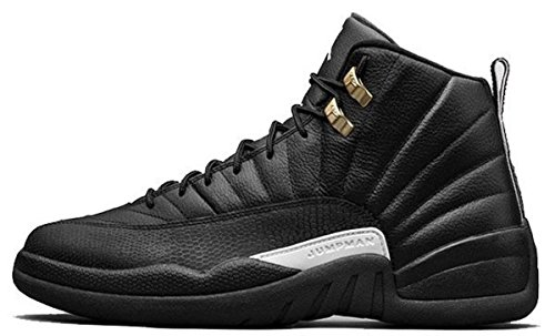 Nike Air Jordan Retro 12 Mens Black White Black Metallic Gold 136090-013 (10.5)
