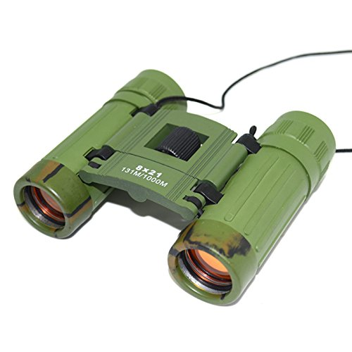 Greenwon Bushnell Waterproof Binocular 8X21 Portable Telescope Folding Roof Prism New
