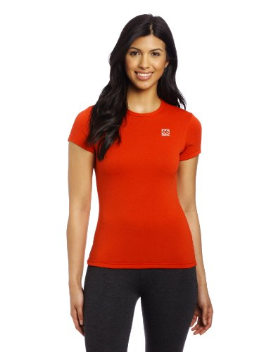 66 North Women'S Grettir T-Shirt, X-Small, Scarlet