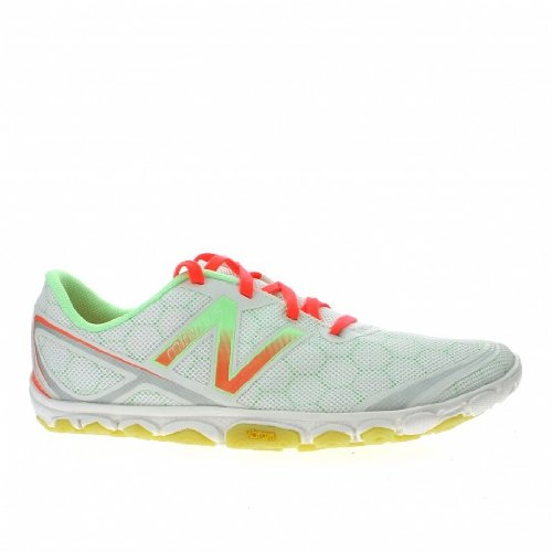 New Balance New Balance Ladies Minimus WR10WW2 Trail Shoe 7B white pink