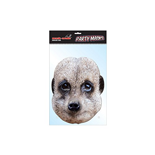 MeerKat Celebrity Face Mask (Card)