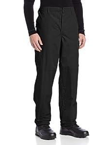 TRU-SPEC Men's Polyester Cotton Rip Stop BDU Pant, Black, 3X-Large