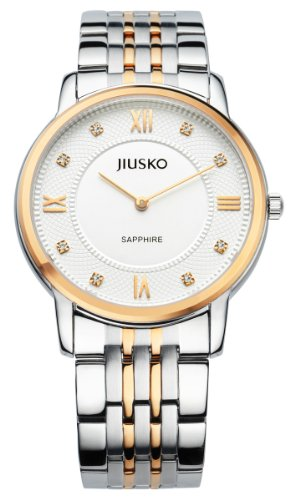 Jiusko Men'S Luxury Stainless Steel Dress Watch 111Mrg01
