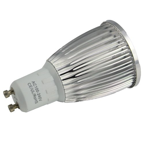 Thg 100-240V Gu10 Dimmable Led 9W Warm White 3200K Led Spot Lights Lamp Bulb 800Lm Replacement 60W Halogen Equivalent No Need Dimmer front-956789