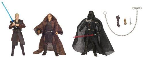 Star Wars 3.75 Inch Evolutions - Anakin Skywalker To Darth Vader Legacy 3Pk