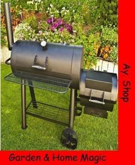 77kg-Profi Super XXL Smoker, BBQ Grillwagen für den Profi günstig bestellen