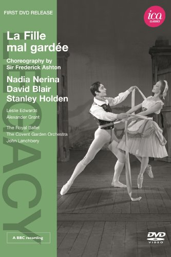 Ashton: La Fille Mal Gardee (Nadia Nerina/ David Blair/ Stanley Holden/ Leslie Edwards/ The Covent Garden Orchestra/ John Lanchberry) (ICA Classics: ICAD 5088) [DVD] [NTSC]