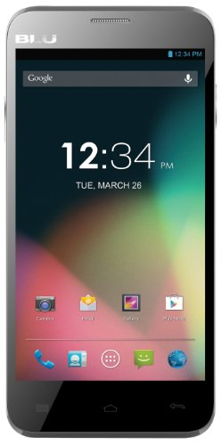 Blu Dash 5.0 D410A Unlocked Dual Sim Gsm Phone (Grey)