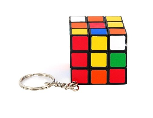 Tanboo Mini Keychain 3*3*3 Rubik Cube Puzzle Magic Game Toy,Educational & Puzzle Toys front-10382