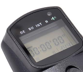 jjc met m intervallometro con scatto remoto per esposizione multipla hdr  per nikond90  s Nikon D7000 Nikon D5200