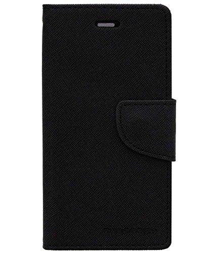 DMG Mercury Goospery Wallet Case for Samsung Galaxy S Duos 2 S7582 (All Black)
