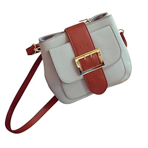 Koly_Modo delle donne di spalla del sacchetto (Grigio)