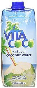 Vita Coco 100% Pure Coconut Water (500 ml-Pack of 6)- No Added Sugar