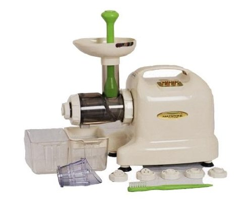 Matstone 6 in 1 Ivory Juicer - 5 Years Parts and Labour Warranty and 12 Years Motor Warranty