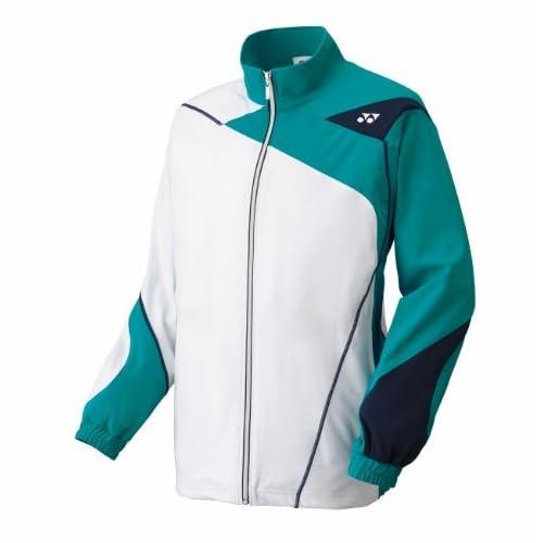 (ヨネックス)YONEX UNI ニットウォームアップシャツ(アスリートフィット) 50046 011 ホワイト S