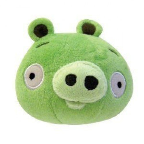 Angry Birds 8 Inch DELUXE Plush Toy Neutral Pig - 1
