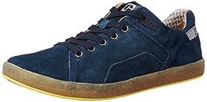 Cat Men's Leather Sneakers