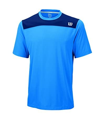 Wilson Camiseta Manga Corta M Knit-Stretch Woven