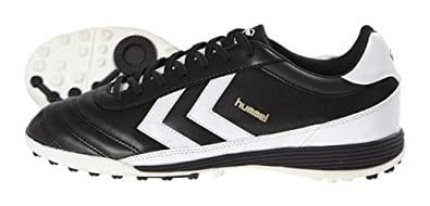 Hummel Unisex - Adult OLD SCHOOL DK TURF Football Shoes Black black / white Size:5.5