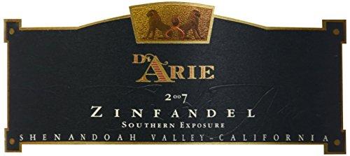 2007 C.G. Di Arie Cellar Select Wines Zinfandel, Southern Exposure 750Ml