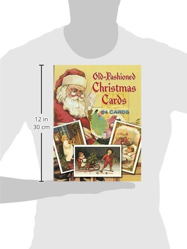 Old-Fashioned Christmas Postcards: 24 Full-Colour Ready-to-Mail Cards (Dover Postcards)
