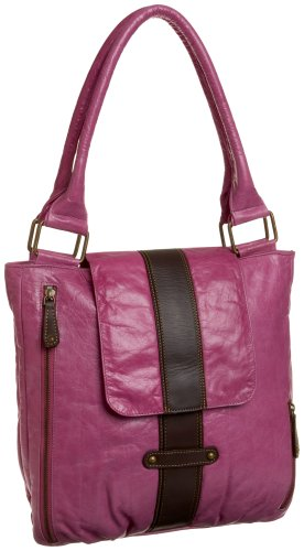 Latico P.S. North/South Flapover Tote,Orchid,one size