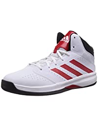 Adidas Men's Isolation 2, WHITE/BLACK/RED