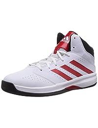 Adidas Men's Isolation 2, WHITE/BLACK/RED