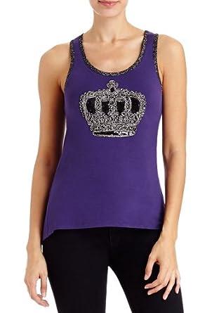 2B Crown Leia Tank 2b Knit Tops Purple Reign-xl