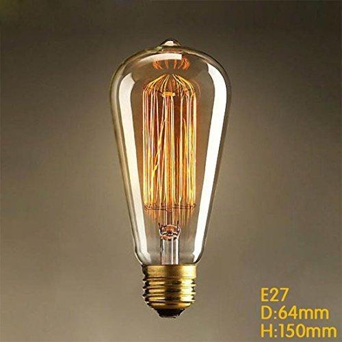 Vintage Glühbirne 25w E27 ST64