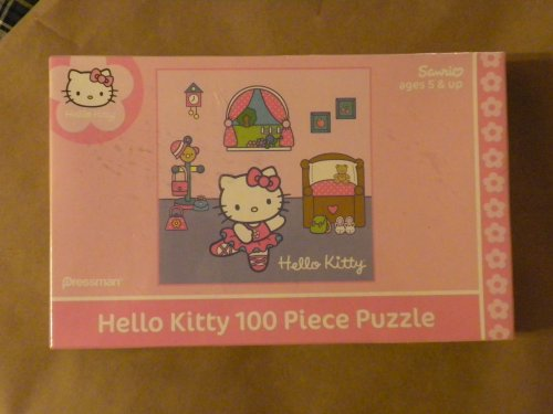 Hello Kitty 100 Piece Puzzle