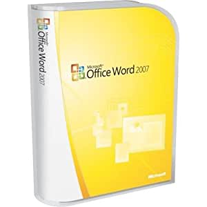 Microsoft Word Home and Student 2007 [Old Version]