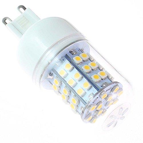 Factop Led Corn Bulb G9 3.5W 60Xsmd3528 300-320Lm 3000-3500K 110V Light Color Warm White