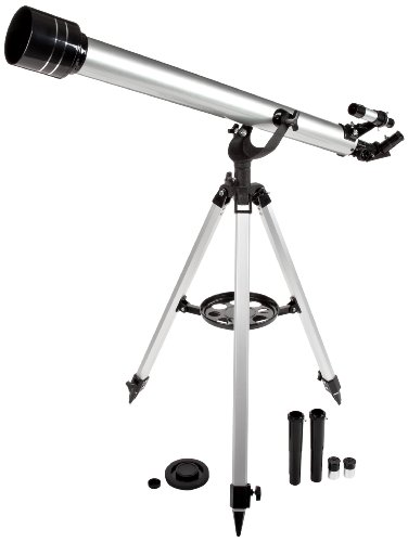 "American Educational Plastic Metal Advanced Telescope, 2"" Lens Diameter"