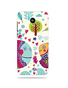 alDivo Premium Quality Printed Mobile Back Cover For Meizu M1 Note / Meizu M1 Note Case Cover (XT017)