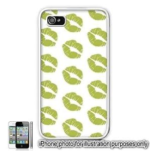 Amazon Lime Green Lipstick Kiss Mark Print Apple #2: 41UGnY8V6PL SY300
