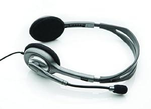 Logitech H110 Stereo Headset silber